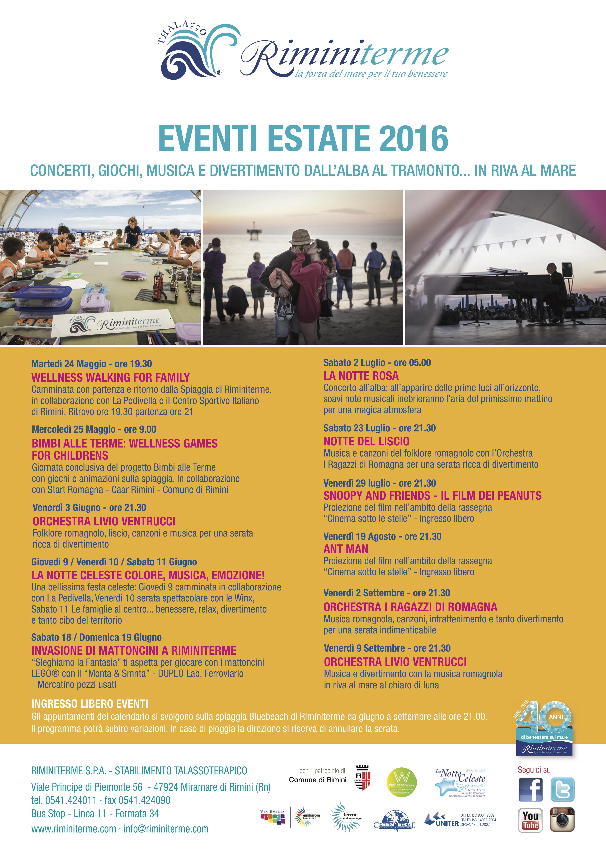Calendario degli eventi rimini turismo emilia romagna for Calendario fiere 2016