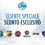 CNA rinnova convenzione con FCA: sconti super su auto e veicoli commerciali
