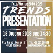 Trend Presentation, il 19 giugno a Bologna Cna Federmoda presenta le tendenze della moda