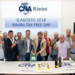 6 agosto, imprenditori in festa per il Capodanno senza tasse