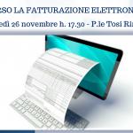 Incontro sulla fatturazione elettronica lunedì 26 novembre a Rimini