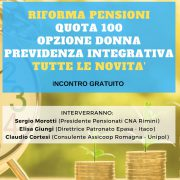Riforma pensioni, tutte le novità: incontro gratuito giovedì 21 marzo