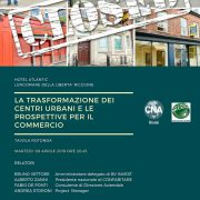 La trasformazione dei centri urbani e le prospettive per il commercio. Incontro a Riccione il 9 aprile