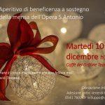 Aperitivo di beneficenza a sostegno della mensa dell'Opera S. Antonio – martedì 10 dicembre